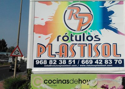 rotulos plastisol